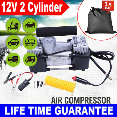 Heavy Duty Portable 12V Electric Car Tyre Inflator 150Psi Air Compressor Pump Me
