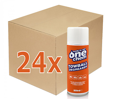 Towball cleaner and degreaser spray  24 x 200ml  MUST GO CLEARANCE