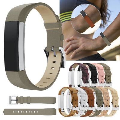 Replacement Genuine Leather Band Strap For Fitbit Alta / HR Watch Bracelet Belt