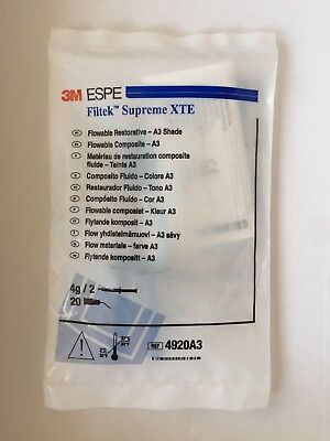 Filtek™ Supreme XTE Flowable Composite A3