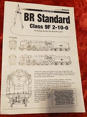 BR Standard Class 9F 2-10-0 Drawings Pamphlet