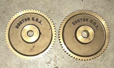 "Boston Brass Worm Gear 5"" 60 Teeth Unused NEW QTY (2) GB1260A"