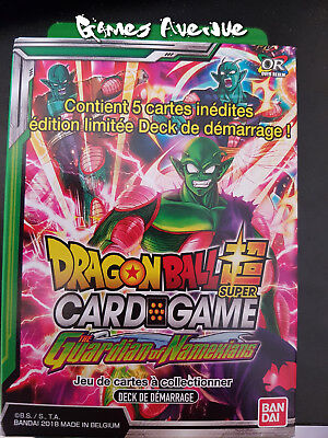 "Dragon Ball Super Game ! Deck de Démarrage ""The Guardian of Namekians""  VF/SD04"