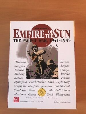 Empire of the Sun First Edition, GMT, Cosim Game, unpunched