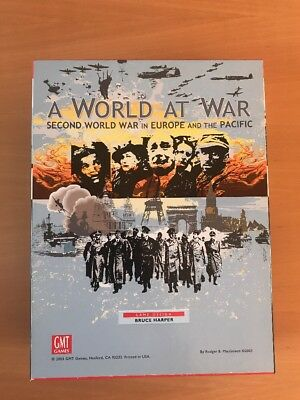 A World At War, GMT, COSIM GAME, Erste Edition, unpunched