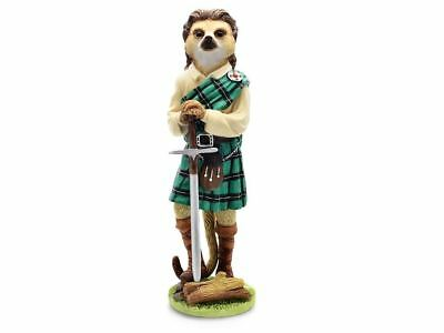 Magnificent Meerkats CA04498 William Wallace Meerkat Figurine Ornament Gift