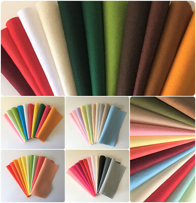 Wool Mix Felt Packs | Multiple Themes and Quantities | 22.5x11x0.1cm