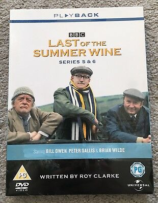 Last of the Summer Wine: The Complete Series 5 and 6 (3 disc Box Set) [DVD]