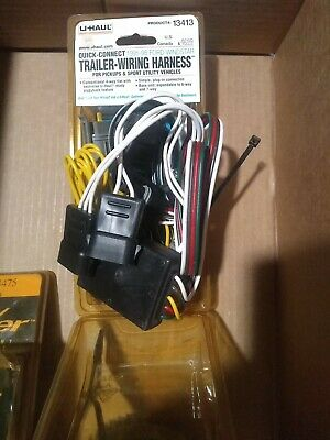 U-HAUL TRAILER WIRING HARNESS Product# 14486 (Sealed) - $19.71 ... on ignition coil installation, timing chain installation, radio installation, safety harness installation, power supply installation, generator installation,