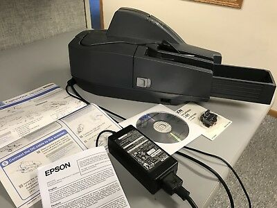 Epson CaptureOne TM-S1000 Single-Feed Check Scanner Reader MICR 60 DPM M236A