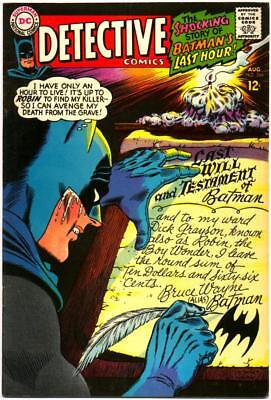 Detective Comics 366 Vf 8.0 Batman Dc Silver Infantino Elongated Man 1967 Bin
