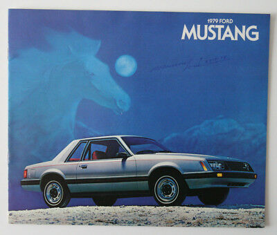 FORD MUSTANG 1979 dealer brochure - English - Canada - ST1002000518
