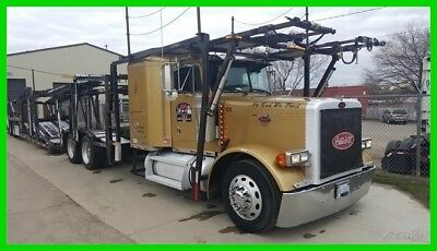 2003 Peterbilt 379 Semi Sleeper w/ 2000 Cottrell 10 Car Trailer,Cat C-15, Diesel