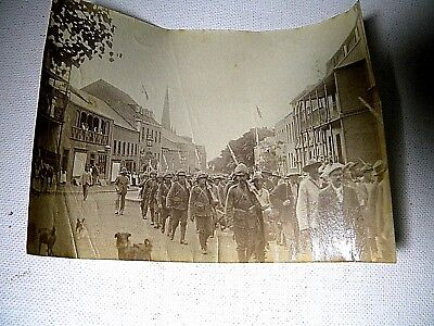 Photographs of Boer War - Soldiers Marching and Camp