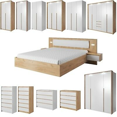 Xelo - Multi Listing - All Options Mix & Match Wardrobes Chest Of Drawers Bed