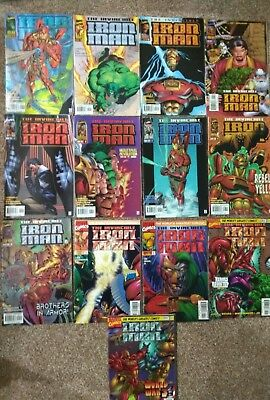 Iron man issues 1-13 from 1996.