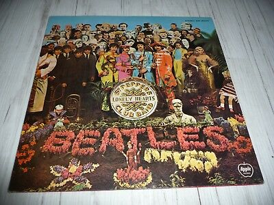 LP Beatles SGT Peppers lonely hearts club band   (Japan / Apple)