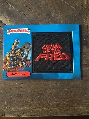 Garbage Pail Kids Oh The Horror-ible Dawn Of The Fred Patch Card 2b 06/50