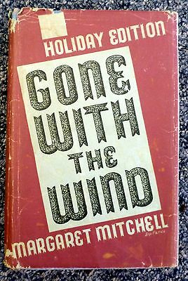 GONE WITH THE WIND by Margaret Mitchell 1939 Holiday Edition Hardback w/DJ