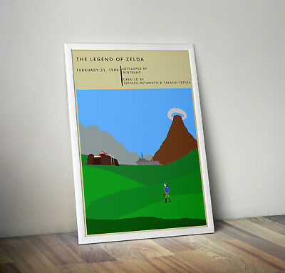 Legend of Zelda, print, poster, gaming, quote, wall art, gift, gamer, picture