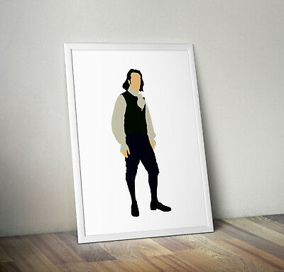 Hamilton Musical poster print wall art decor merchandise gift