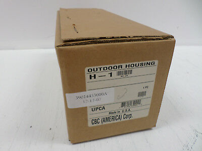 CBC America Corp H-1 Outdoor Security Camera Housing 781904640041