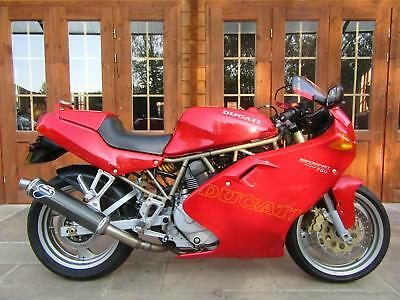 1997/P Ducati 750 Supersport - ONLY 2300 MILES & 2 OWNERS, TERMIGNONI & DYNOJET