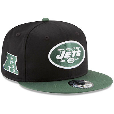 New York Jets NY New Era 9FIFTY NFL Baycik Snap Snapback Hat Cap 950 Flat 190a87c7f2a0
