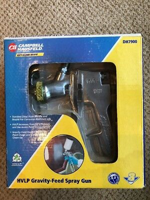Campbell Hausfeld HVLP Gravity-Feed Paint Spray Gun DH7900 New In Box