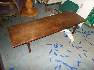 Paine Furniture Company Wood Tail Or Coffee Table Living Room