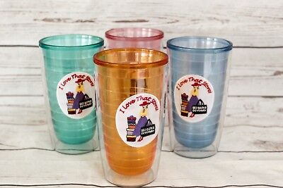 53060bc8655 TERVIS BED BATH   Beyond I Love That Store 16 oz Tumblers Set of 4 ...