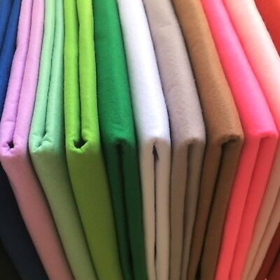 Innovative Supersoft Washable Polyester Craft Felt Sheets | Dense 1mm thickness