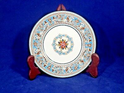 """Wedgwood TURQUOISE FLORENTINE (W2714 FRUIT) Bread & Butter Plate 6"""""""