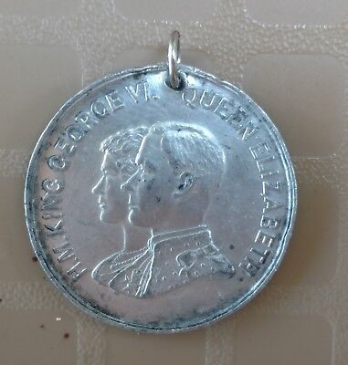 Coronation of King George VI and Queen Elizabeth 1937 medal
