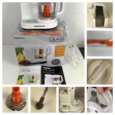 4923b03d19f3 BABY BREZZA GLASS One Step Baby Food Maker PARTS Only fitting BRZ00131 Part
