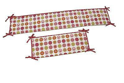 Disney Minnie Mouse  Petal Perfect Baby Crib  Bumper