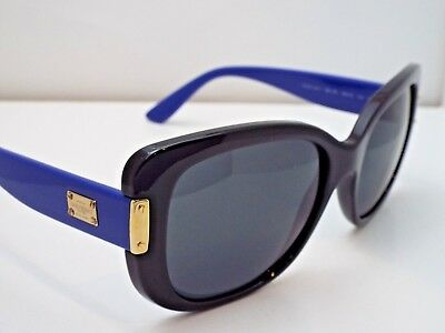 5d83549c30 Authentic GIANNI VERSACE 4311 GB1 87 Black Blue Grey Solid Sunglasses  300