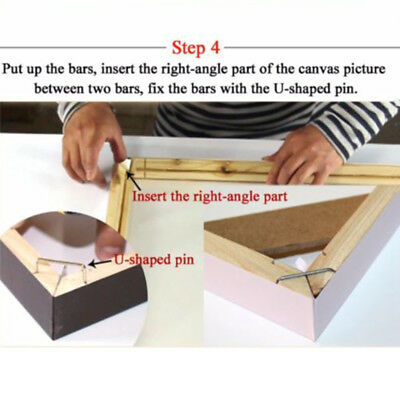 DIY Wood Bar For Canvas Painting Frame Stretcher 20/25/30/35/40/45/50cm Tool