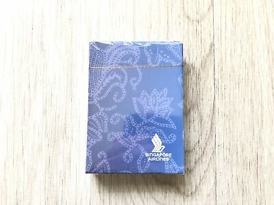Singapore Airlines Playing Poker Cards For VIP, New Sealed