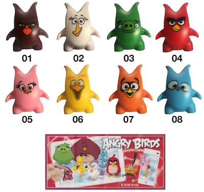 ANGRY BIRDS COLLEZIONE CRAZY CARTINA+BPZ -Accessorio- kinder merendero 2018