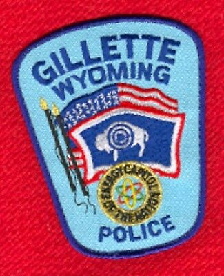 Law Enforcement Patch--Gilette Wyoming--New*