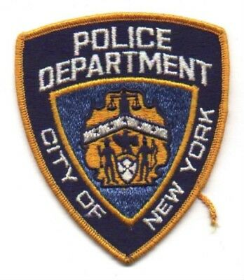 Law Enforcement Patch--New York City Ny Pd--New*