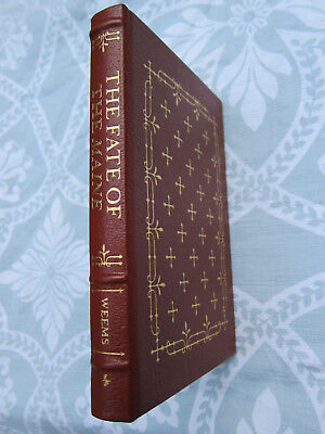 Leather  EASTON PRESS The Fate Of The Maine Weems