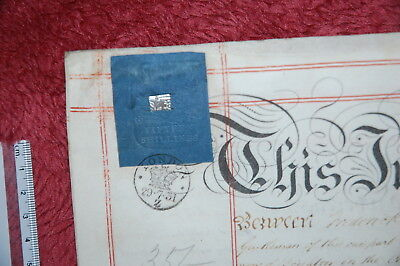 RARE Antique British Will, Indenture. Potentially from famous BELL family?!