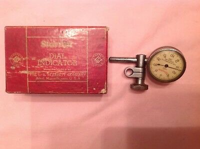 vintage starrett Dial Test Indicator 196B With Original Box