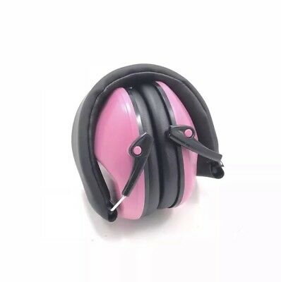 MPOW PINK 068 Kids Ear Protection Safety Muffs NRR 25dB Noise Reduction Hearing