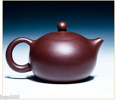 teapot 200cc Chinese totally handmade yixing zisha Purple clay zini xishi