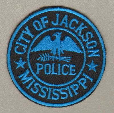 City of Jackson Mississippi MS Police Department Patch FREE SHIPPING