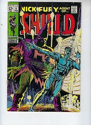 Nick Fury Agent Of SHIELD, 9, VG++, First Series, Hitler, Silver Age