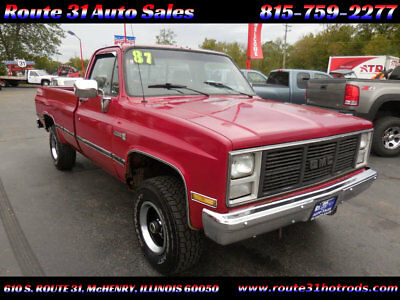 GMC V1500 Sierra 1987 GMC SIERA 4X4 - VERY CLEAN - LOW RESERVE